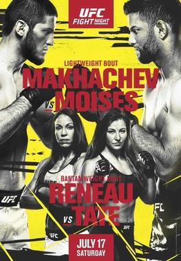 UFC Fight Night: Makhachev vs Moises Fight Card