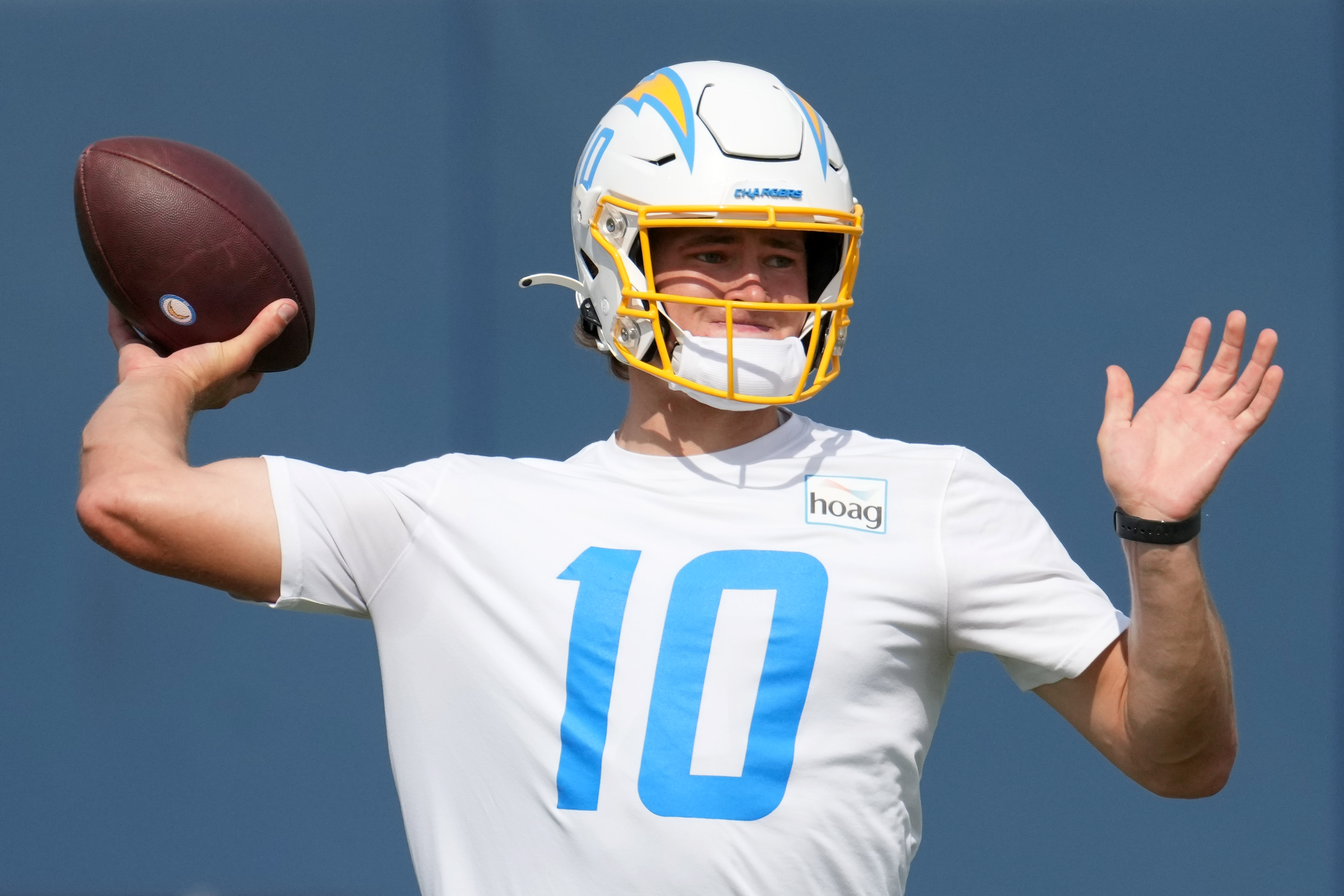 Brandon Staley plans to have Chargers' new offense 'run through' Justin Herbert