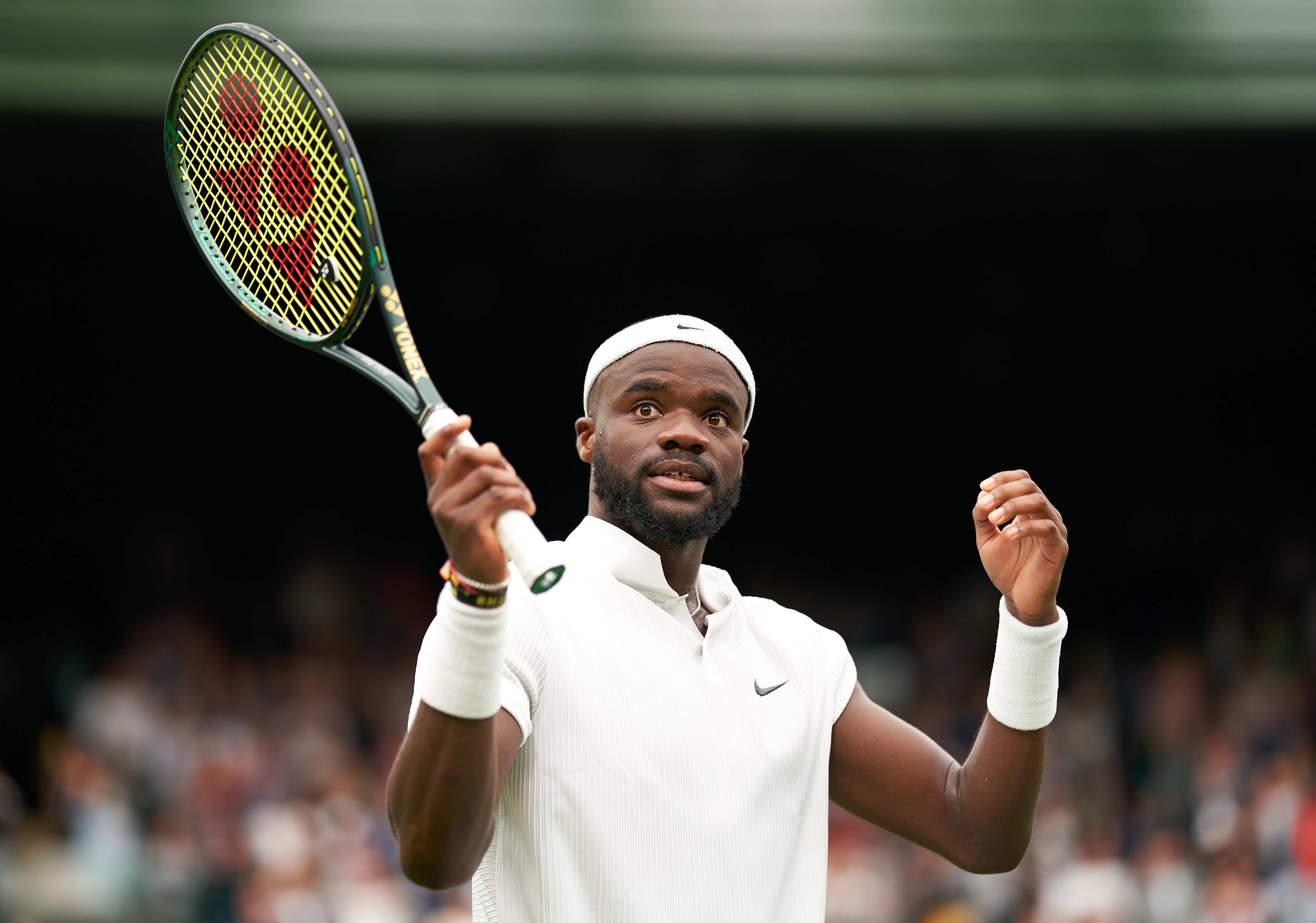 Nine Americans reach the third round of the singles draws at Wimbledon