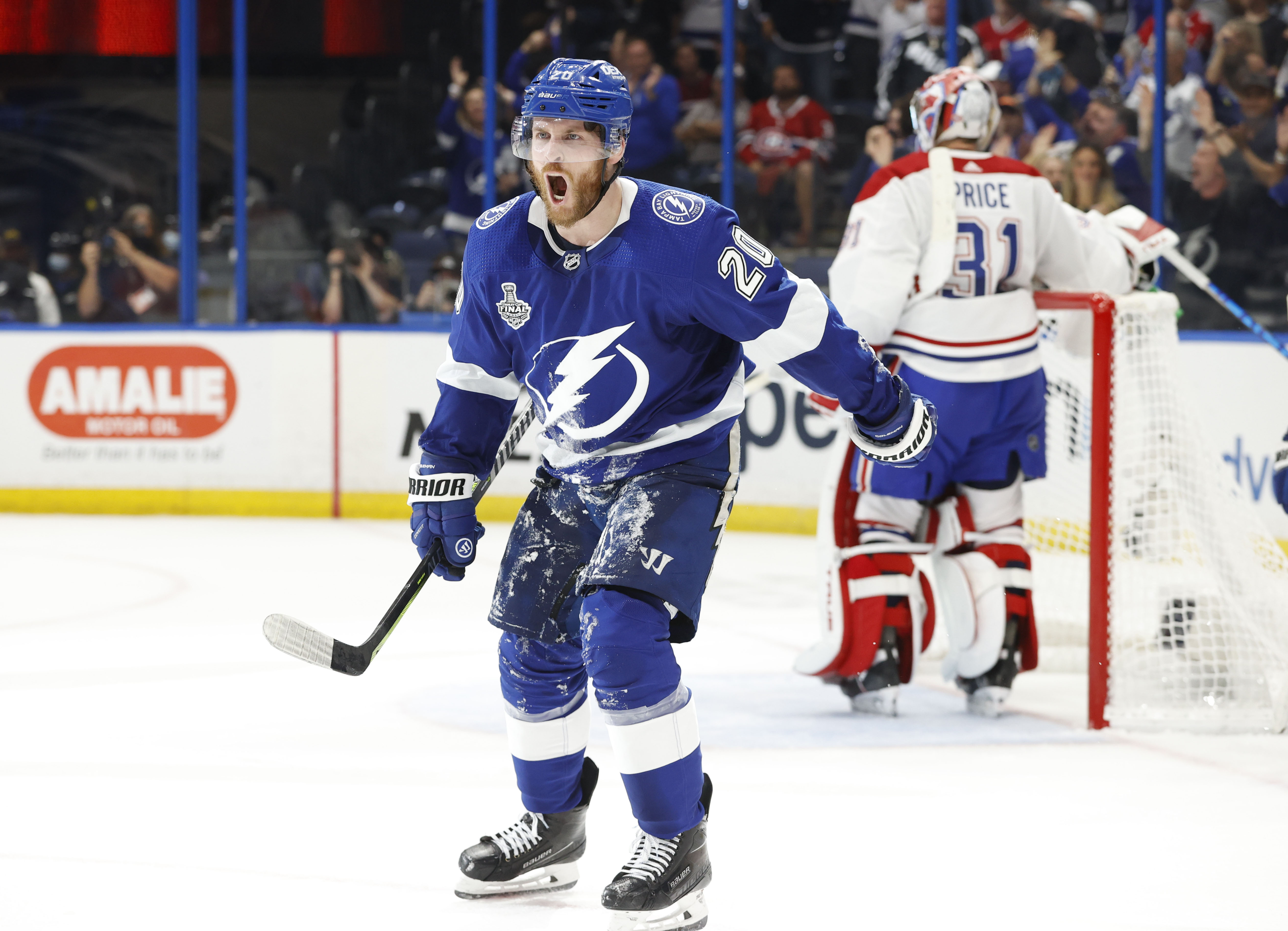 Lightning take commanding lead in 2021 Stanley Cup Finals