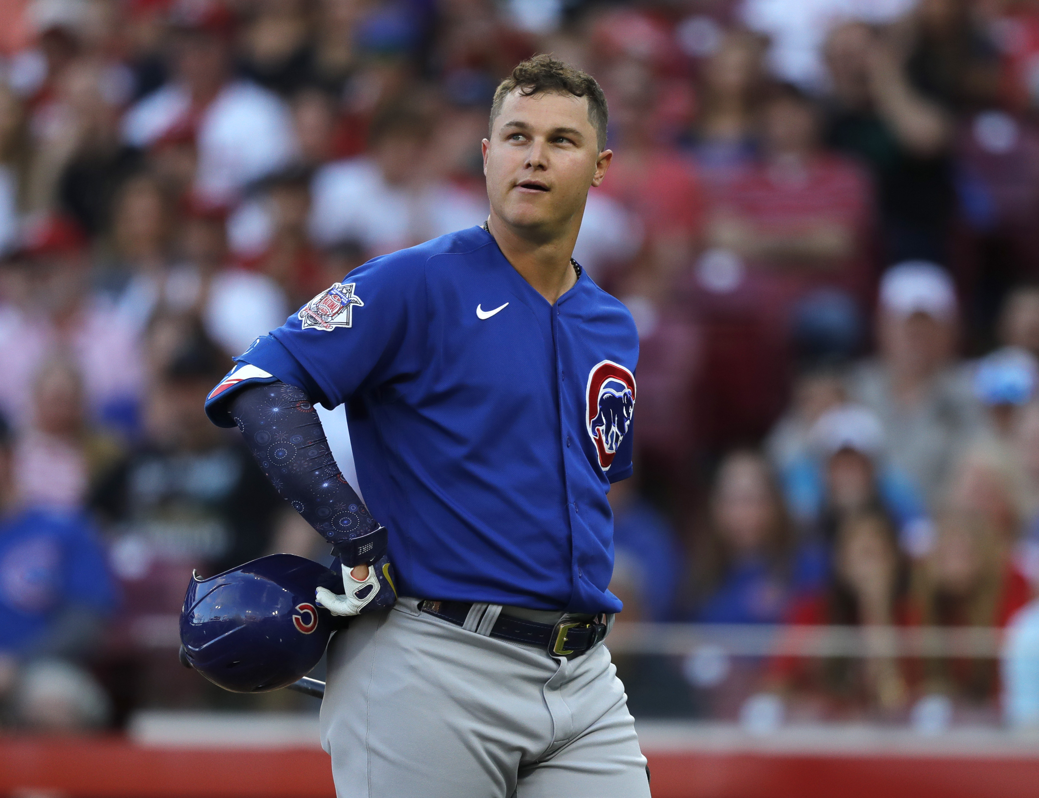 Cubs trade outfielder Joe Pederson to the Braves