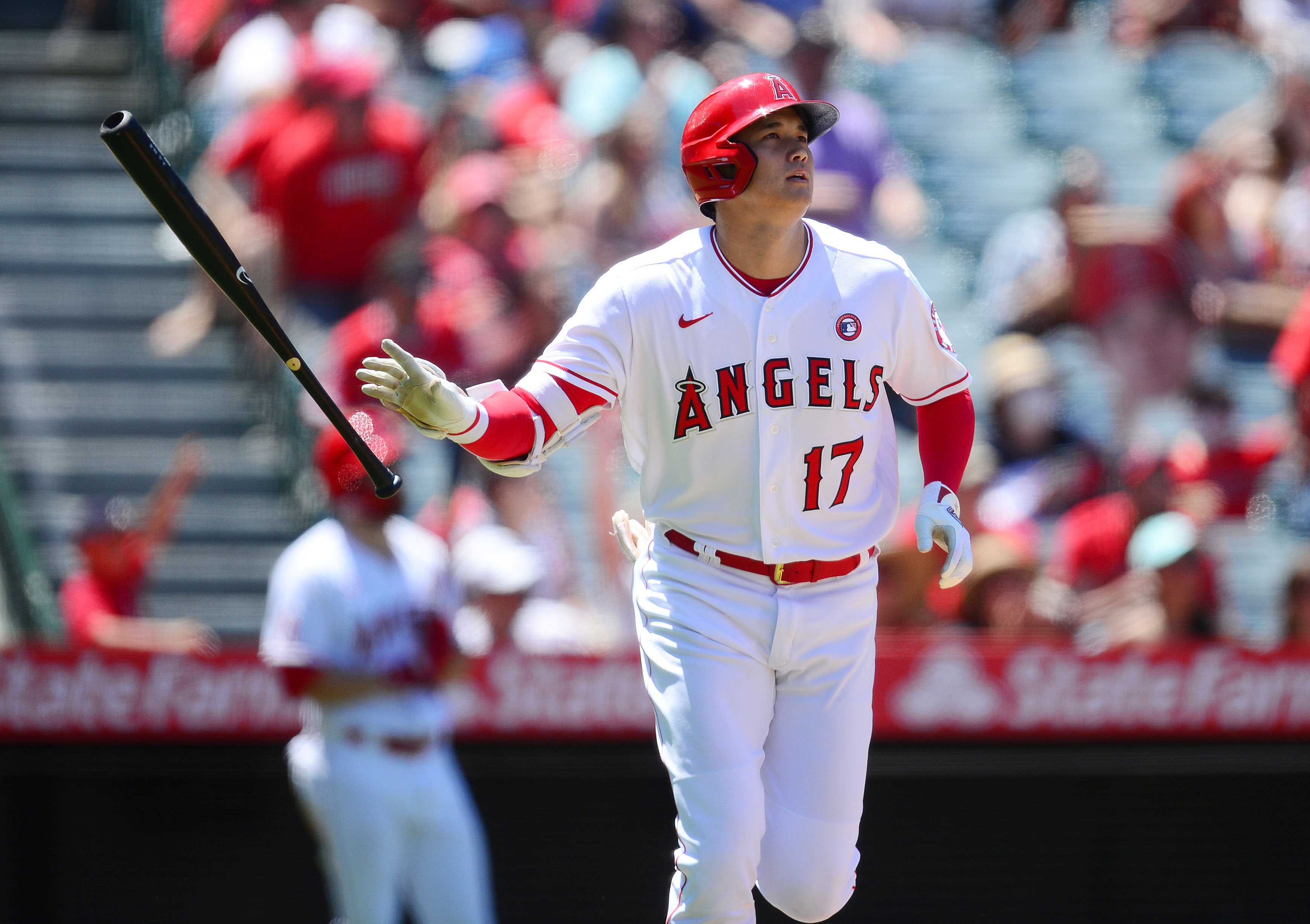 Shohei Ohtani sets MLB record for most home runs in a season by a Japanese-born player