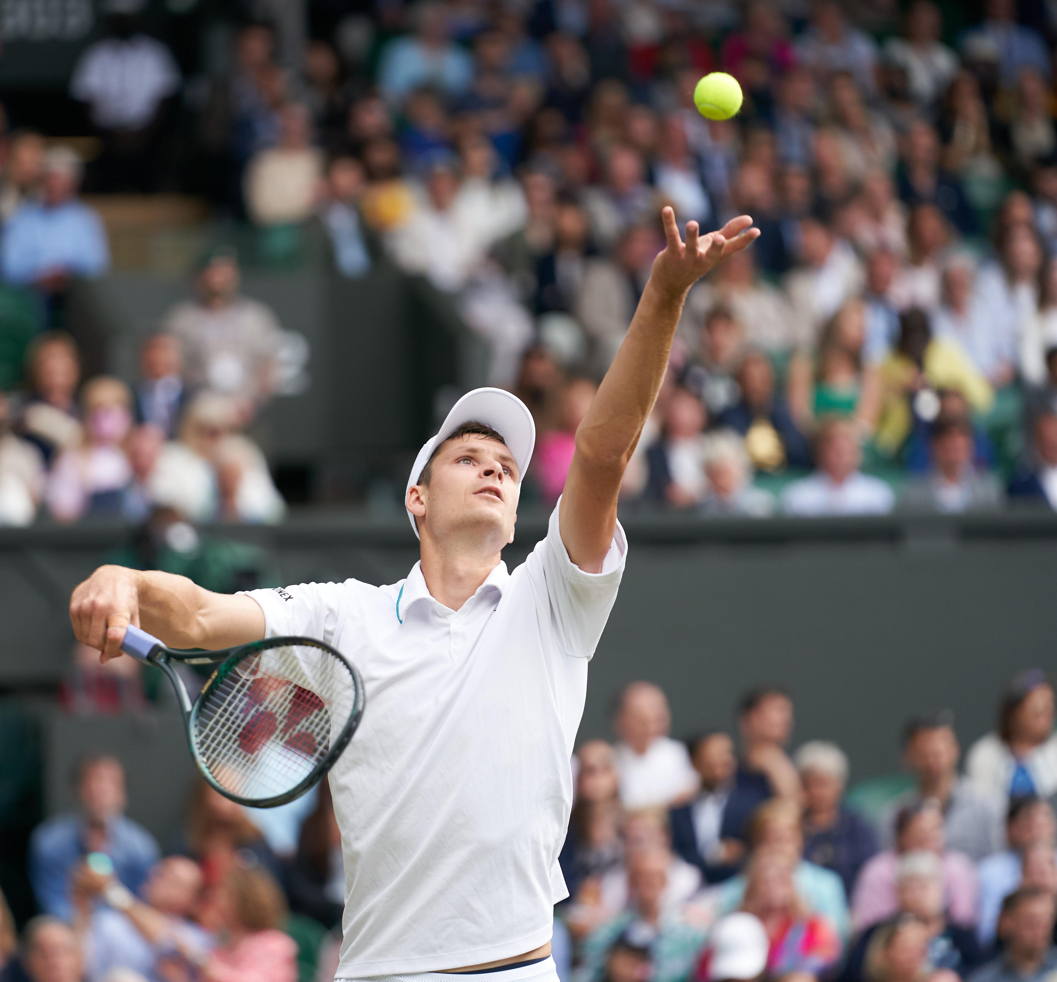Semi-finals set at Wimbledon