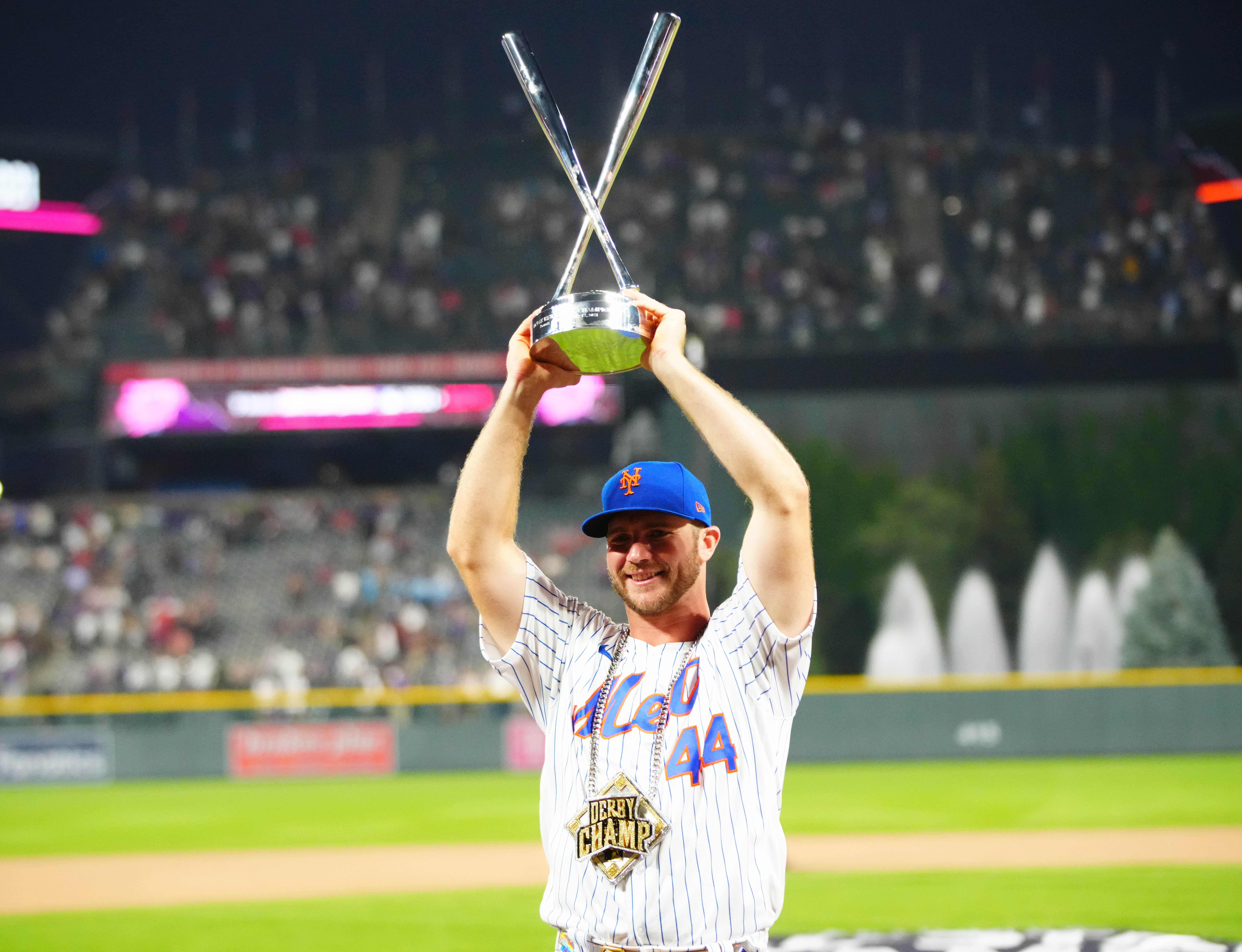 Re-Pete! Alonso takes second straight Home Run Derby crown