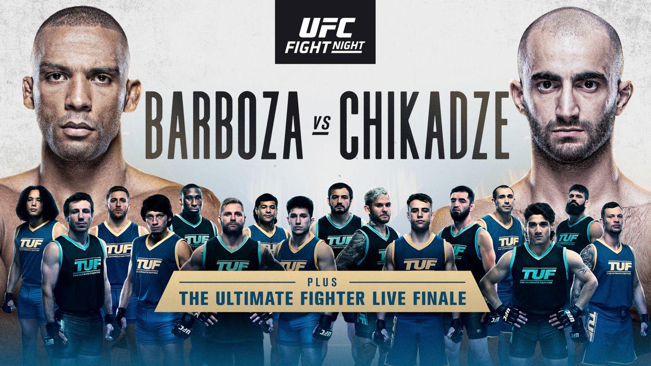 UFC on ESPN: Barboza vs. Chikadze Picks