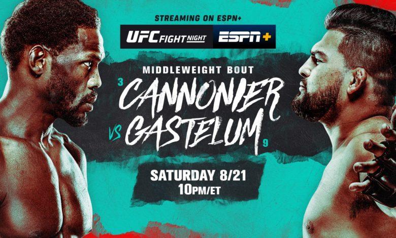 UFC on ESPN: Cannonier vs. Gastelum Picks