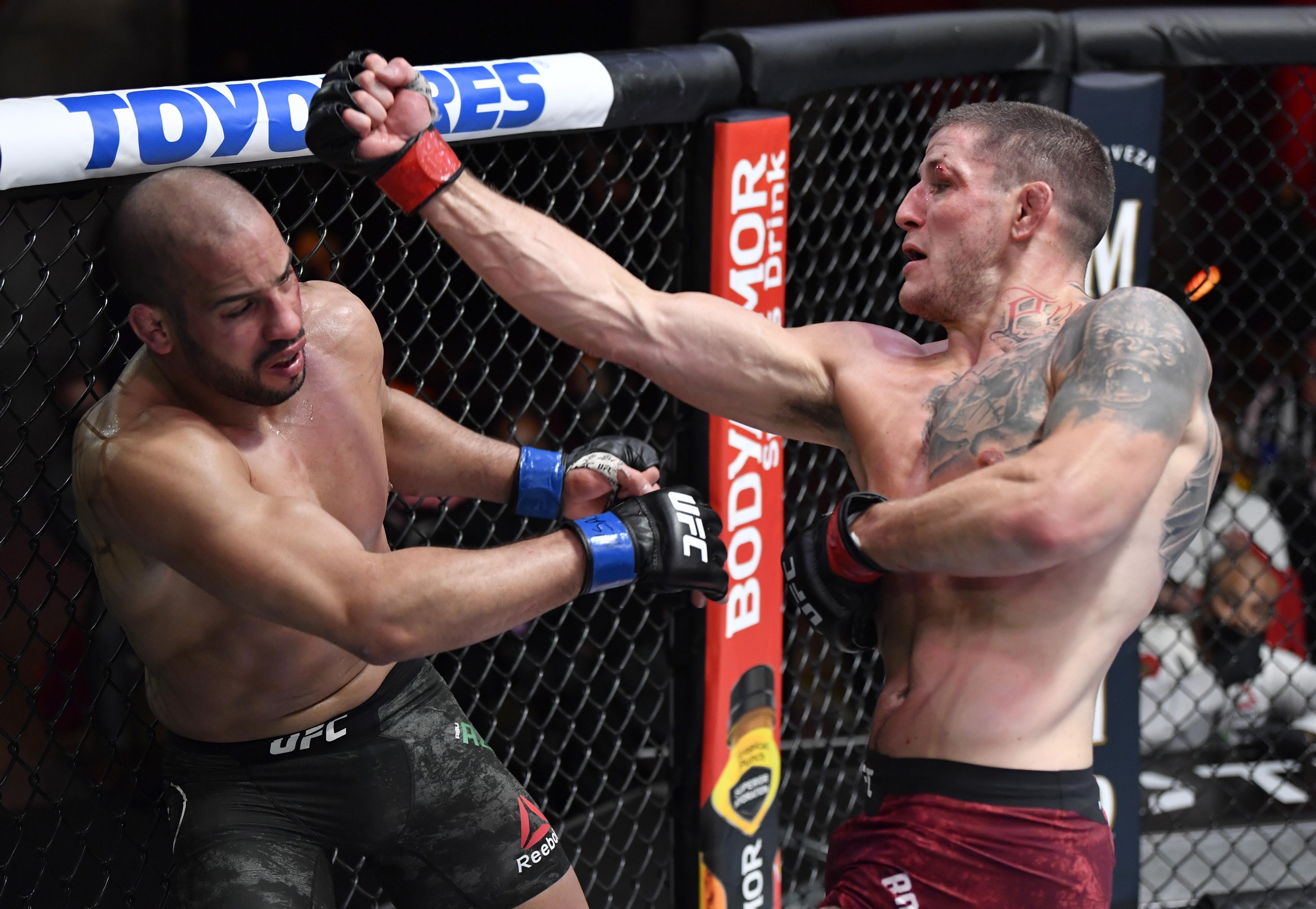 UFC Vegas 36 Prelim Breakout Star: Marc-André Barriault