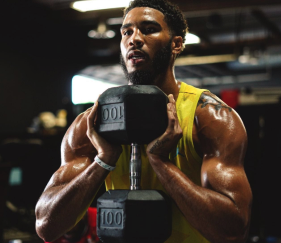 Jayson Tatum puts on weight, looks absolutely jacked in recent workout photos