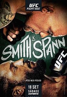 UFC Fight Night: Smith vs Spann Estimated Purses & Incentive Pay