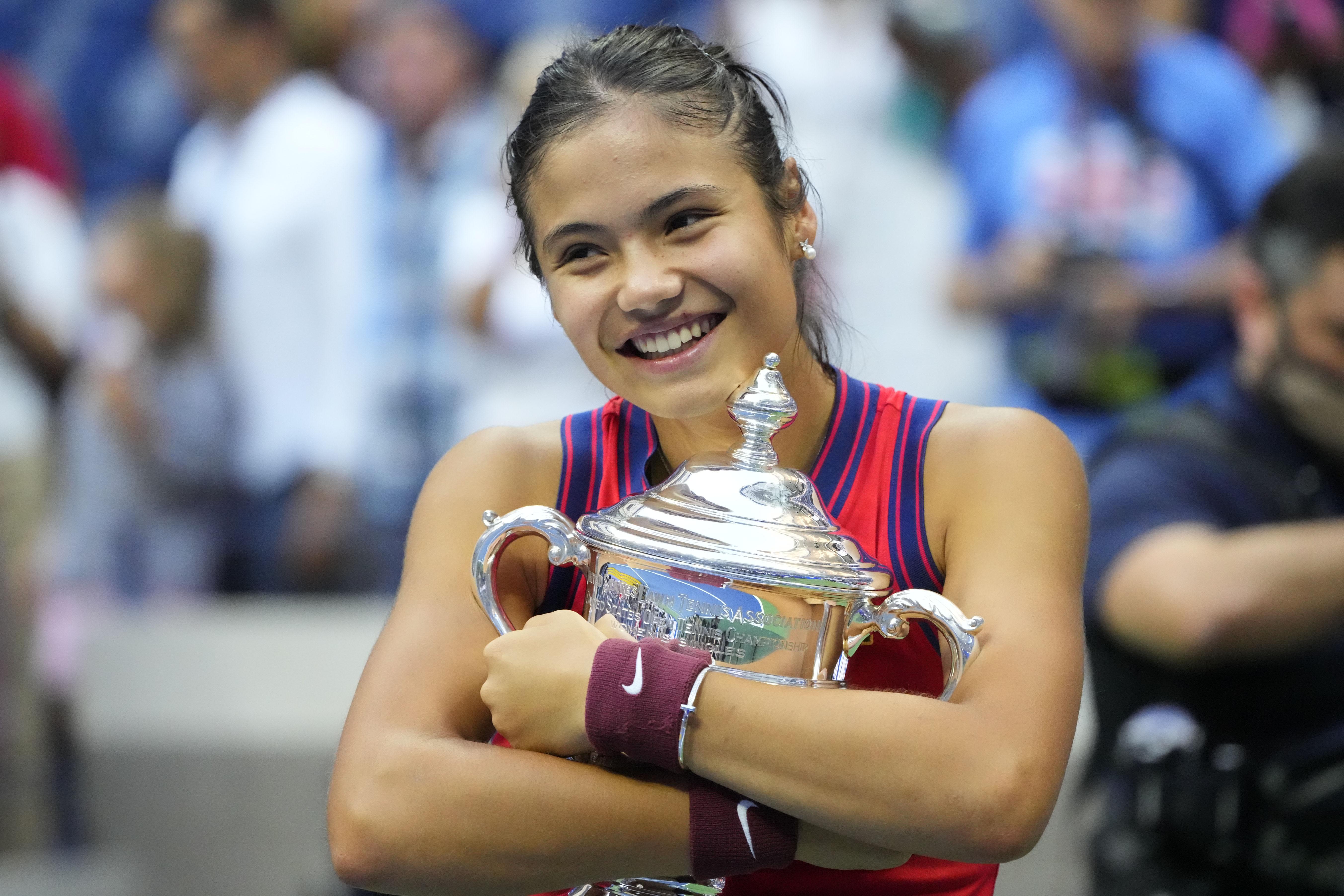 Emma Raducanu and Daniil Medvedev win U.S. Open