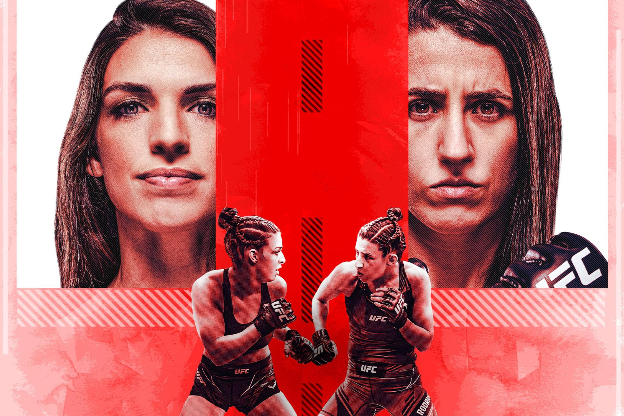 UFC Fight Night: Dern vs Rodriguez Fight Card