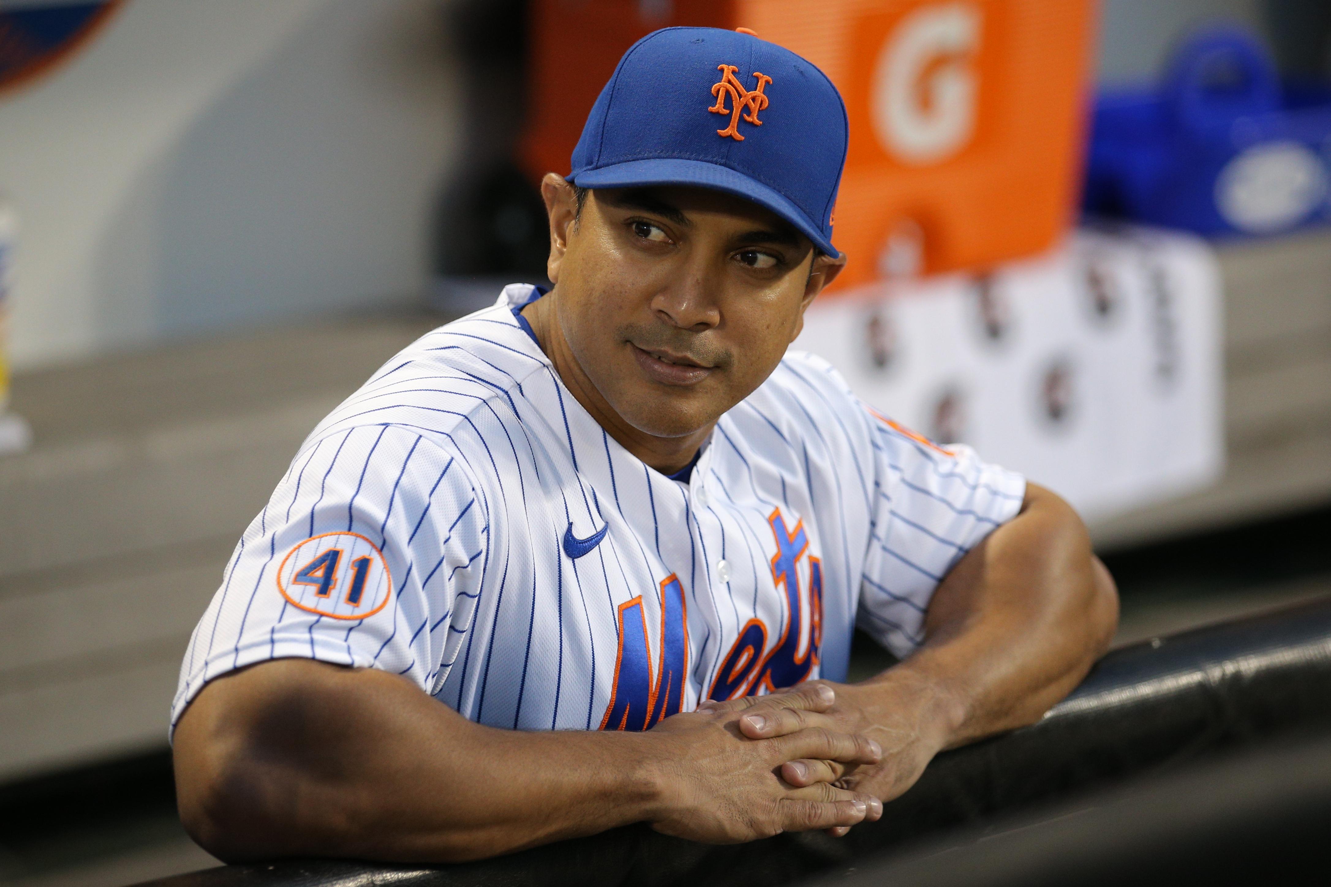 New York Mets decline 2022 option on Luis Rojas