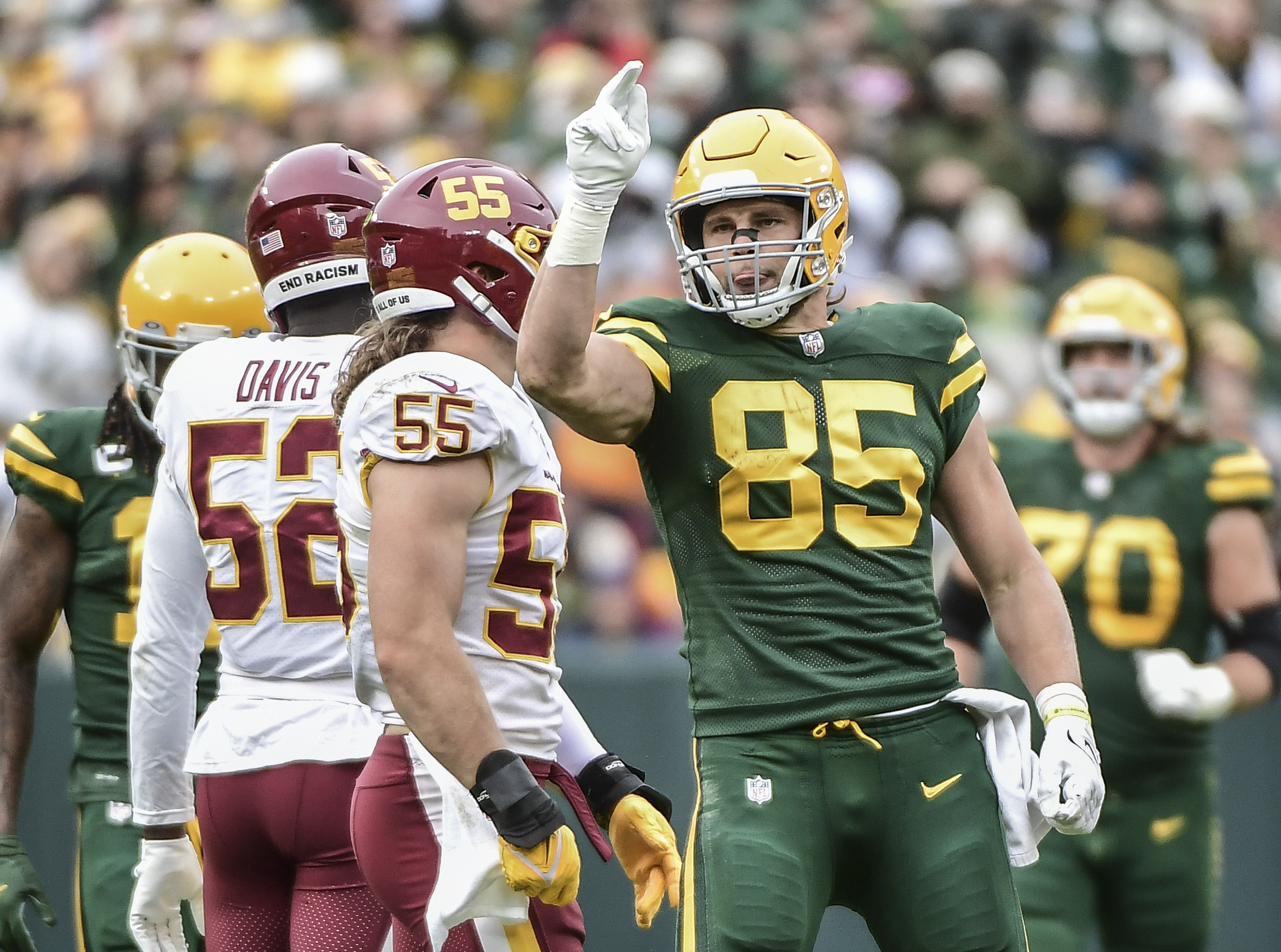 Ten Things We Learned from the Packers 24-10 Win Over Washington
